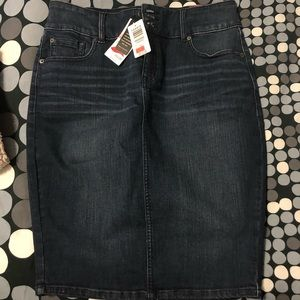 Torrid Denim 5 Pocket Midi Skirt